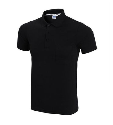 Fashoin Brand Designer Men Short Sleeve Slim Fit Polo Shirt