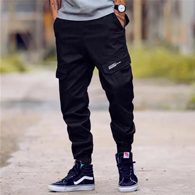 Men Pants Fashion Classical Army High Street Cotton Jogger Pants
