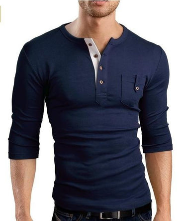 Hot Fashion Style Men Slim Fit Short Sleeve Cotton Tshirt