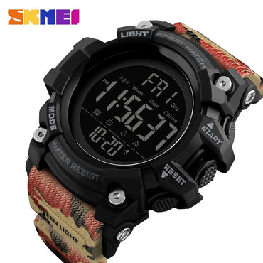 Men Waterproof Sports Watches Luxury Brand Fashion Digital Display