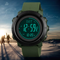 Altimeter Barometer Thermometer Altitude Men Digital Sports Watches