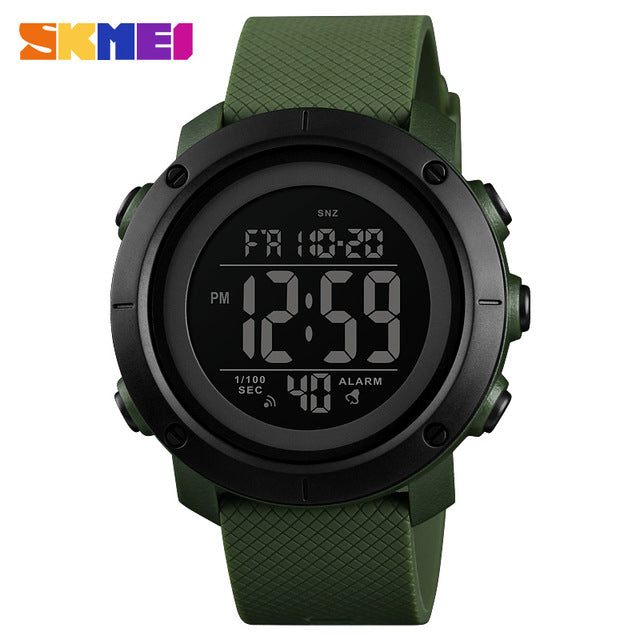Men Luxury Sports Watches Waterproof LED Digital