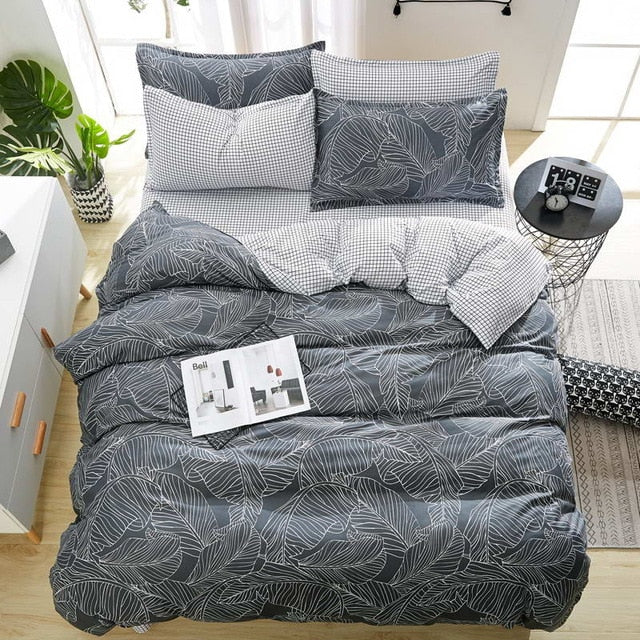 Fashion Design High Quality Linen Bedding Set