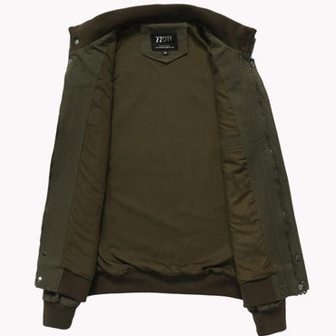 Men Bomber Jacket Premium Quality Cargo Army Cotton Jacket