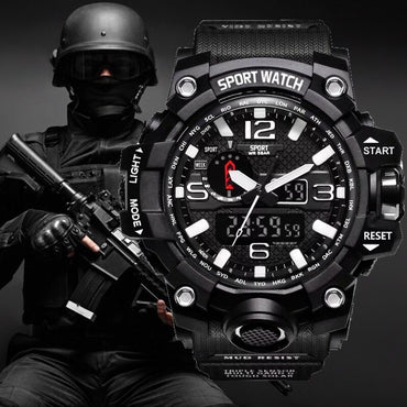 G Style Shock Men Military Army Led Digital Sports Wristwatch