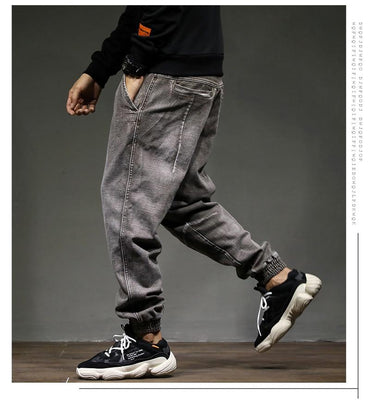 High Street Fashion Classical Men Jogger Jeans