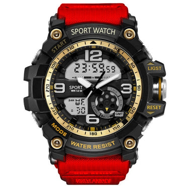 Military Style Men Sport LED Digital Waterproof Casual Watches