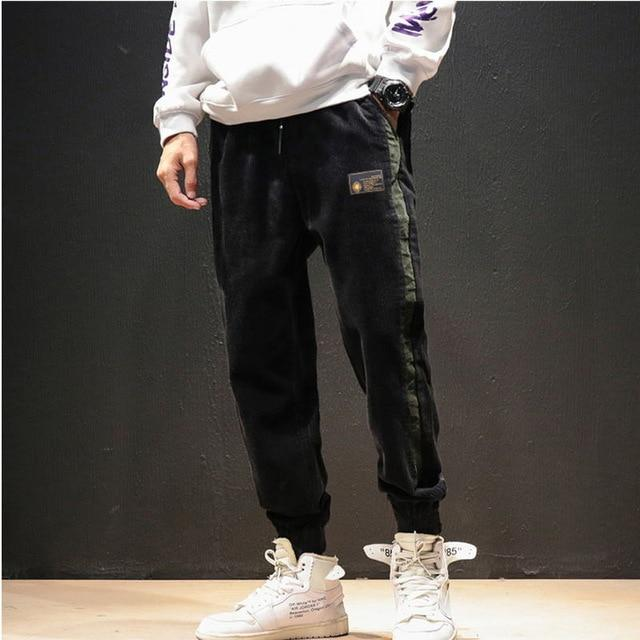 Men pants new arrival fashion beam elastic waist jogger pants