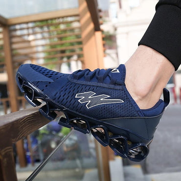 Men Running Shoes Top Quality Anti Slip Hard Wearing Light Weight Sneakers