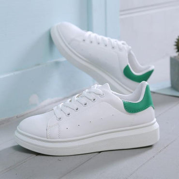 New Designer Woman Lace-Up Breathable Casual Chunky Sneakers
