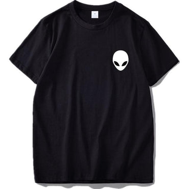 100% Cotton Alien Men Short Sleeve Casual Tshirt