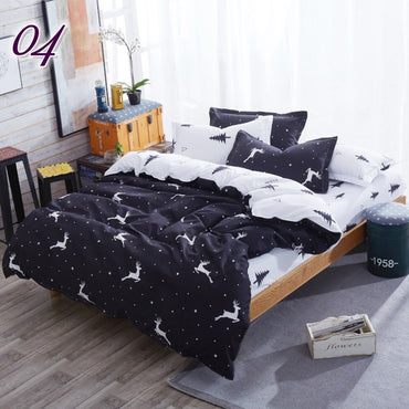 Flamingo Luxury Linen Bedding Set