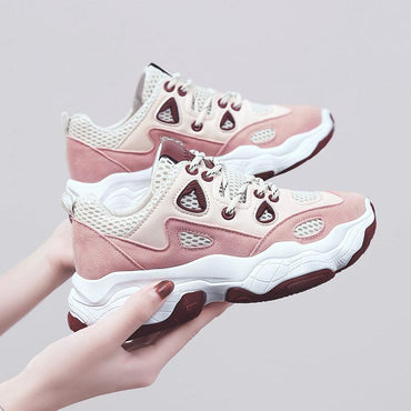 Women Platform Sneaker Casual Chunky Trainers Shoes