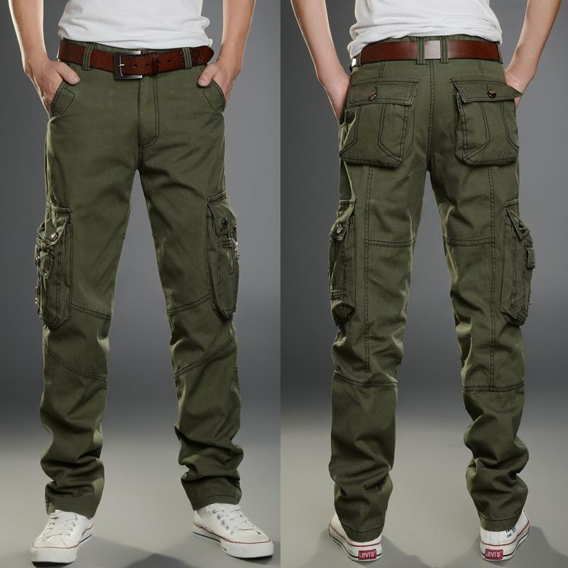 Top Brand Men Military Multi-pockets  Cargo Pants