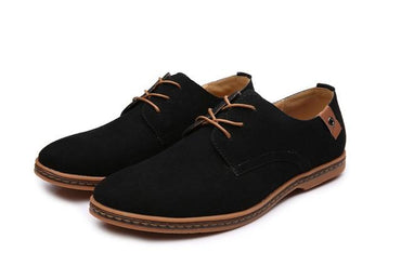 Men Oxford Shoes Fashion Leather Italian Design