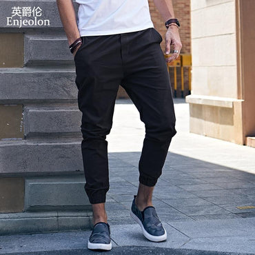 Top Brand Men Fashion Design Solid Casual Pants