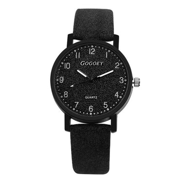 Retro Design Women  Leather Band Quartz Wrist Watch Top Brand Luxury Fashion