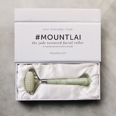 The Jade Textured Facial Roller