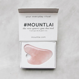 The Rose Quartz Gua Sha Facial Lifting Tool