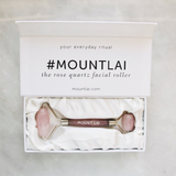 The De-Puffing Rose Quartz Facial Roller