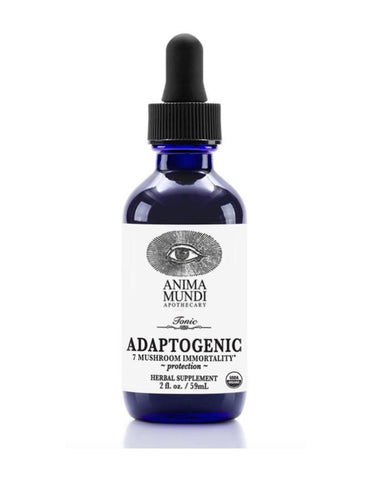 Adaptogenic Tonic: 7 Mushrooms Tonic - Daily Antibiotic + Immunity Booster