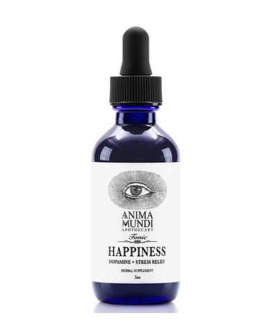 "Happiness Tonic : Dopamine Regulator & Stress Relief - Botanical ""Anti-depressant"""