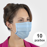 3-Layer Disposable Masks (10 units)
