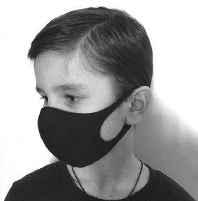 REUSABLE SAFETY MASKS - PACK OF 10 MASKS - FOR CHILDREN