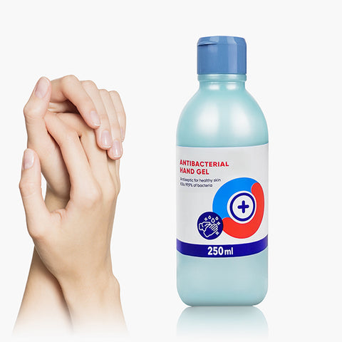 Disinfectant Hand Gel - 10 bottles of 250 ml