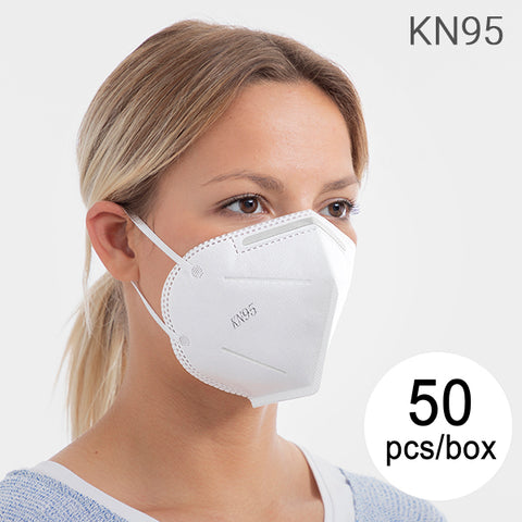 USA - Self-Filtering Mask with 5 Layers KN95 (Pack of 50)