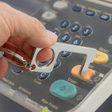 Hygienic Multi-Use Keyring - Hands-Free - 10 units