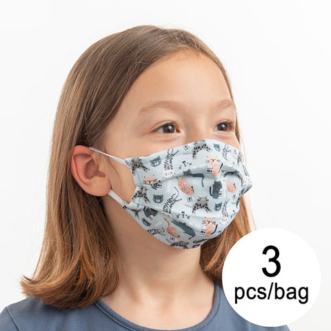 Hygienic Reusable Masks  for Children (Pack of 3 Masks)