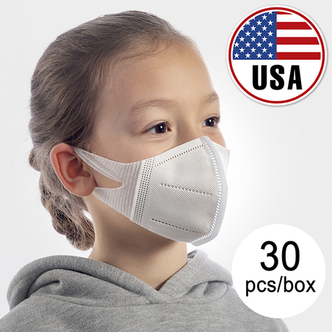 USA - KN95 FOR CHILDREN (PACK OF 30) - UPS FREE FAST DELIVERY