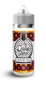 The Daily Grind Toffee Nut Latte