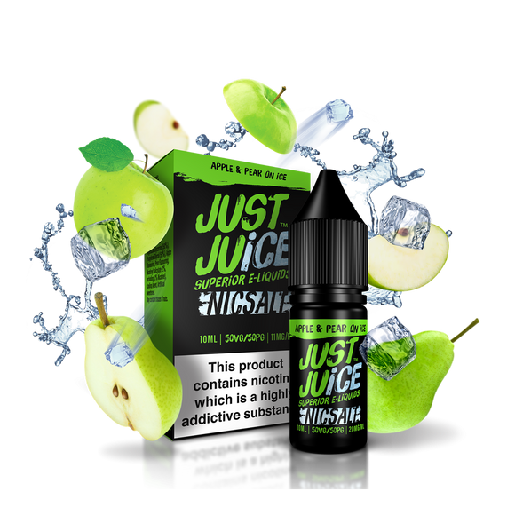 Just Juice Apple and Pear Nic Salt