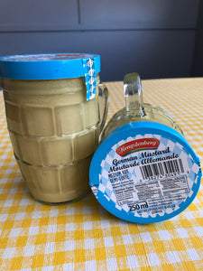 German Mustard Medium Hot (mug jar)