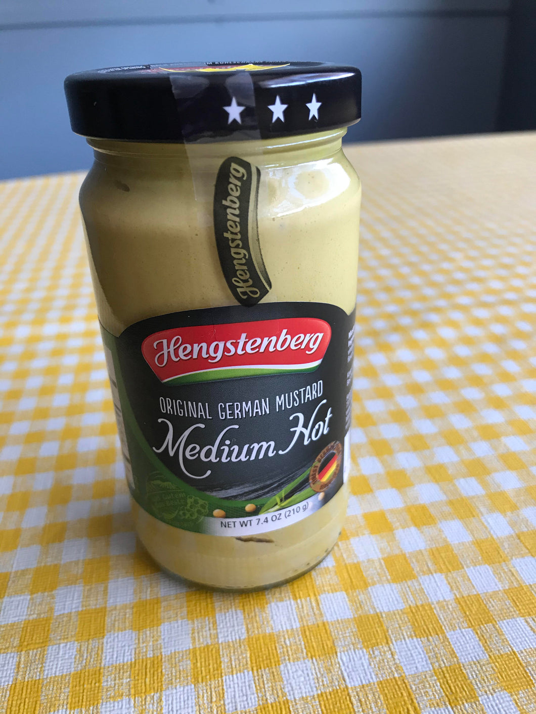 German Mustard Medium Hot