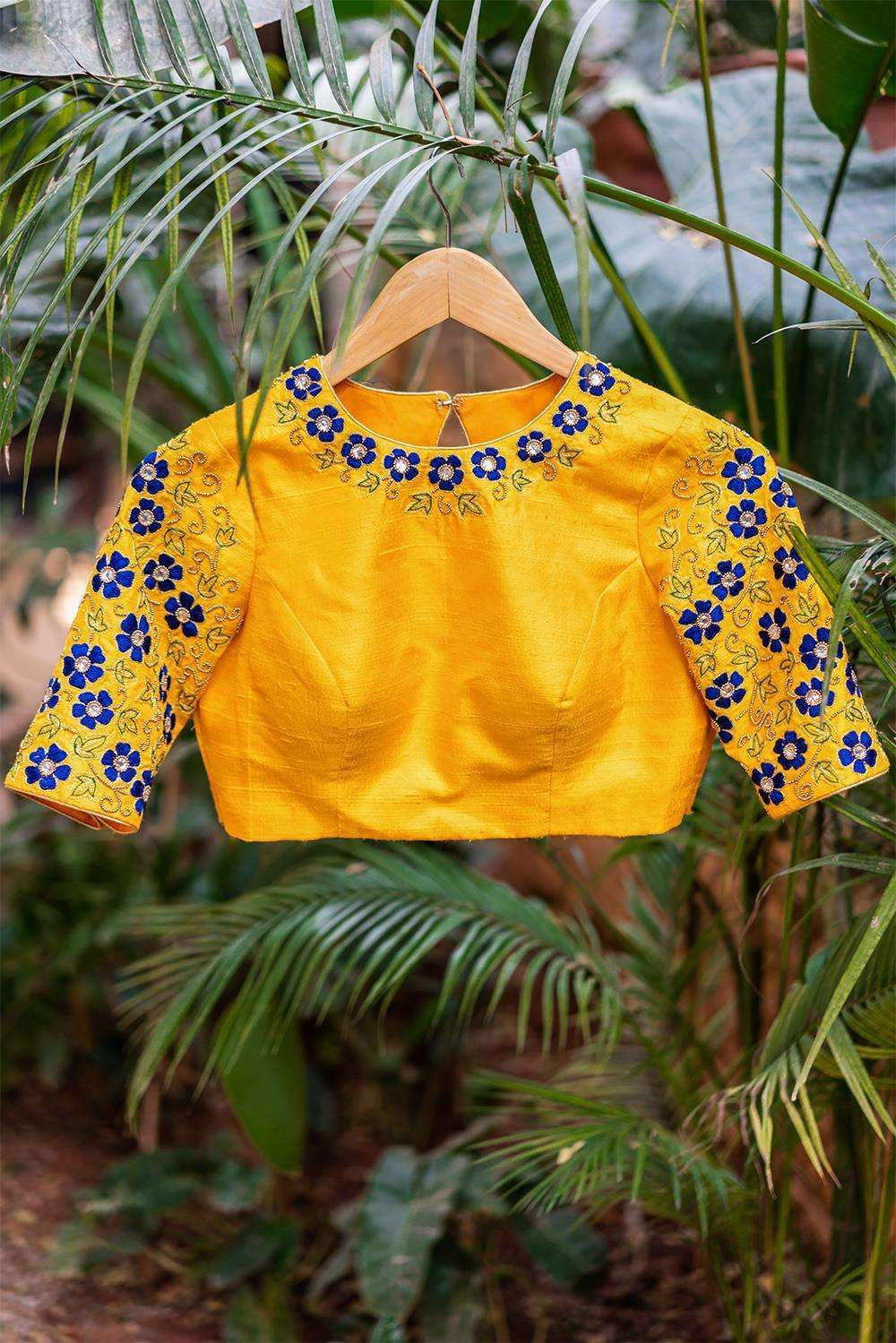 Abbakka Devi - Hand embroidered blouse