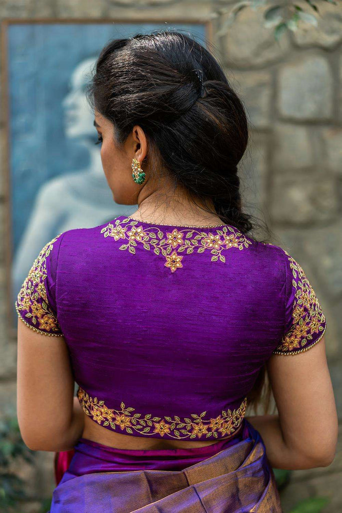 Lakshmibai - Hand embroidered blouse