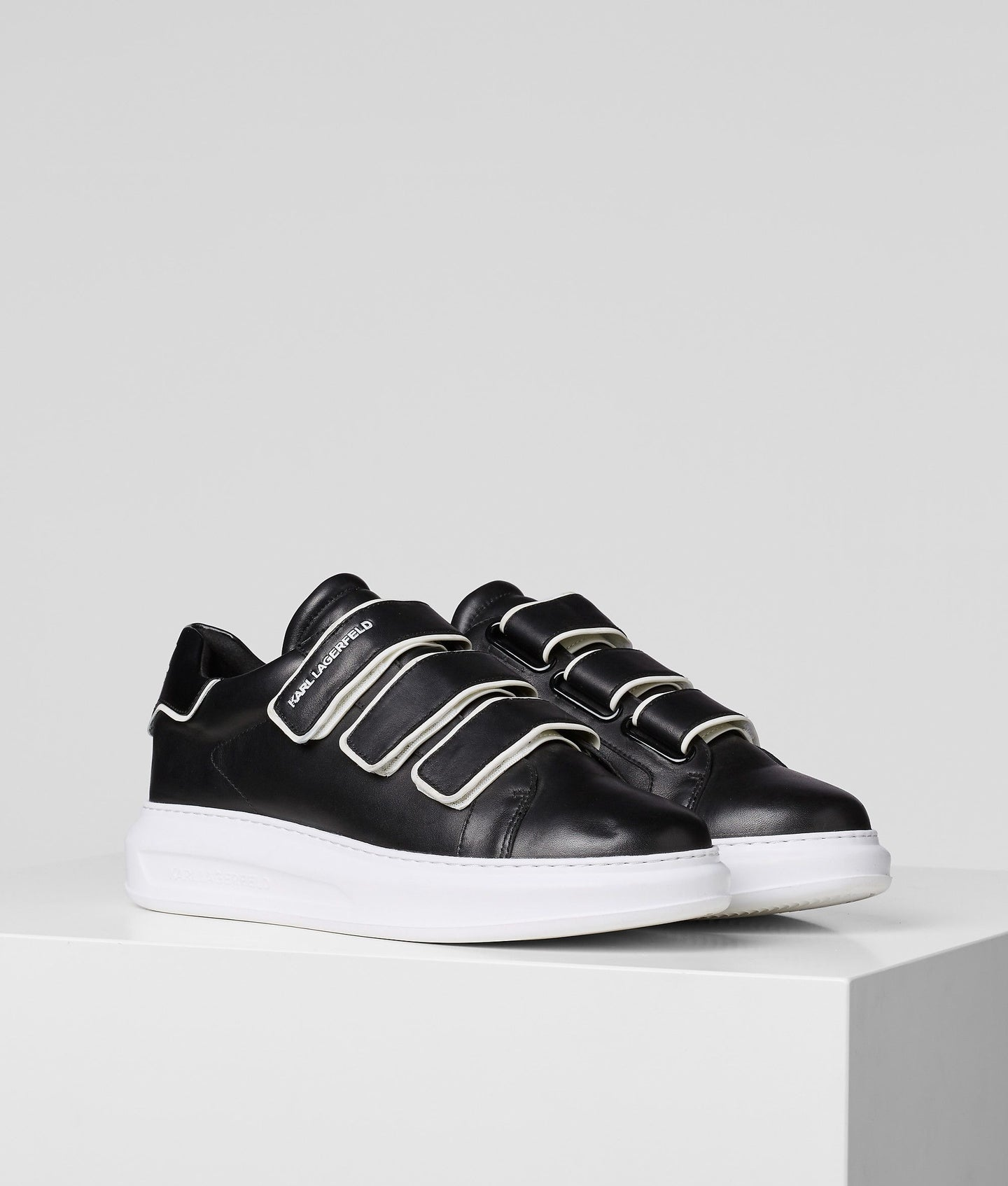 KAPRI MUTLI-STRAP LOW-TOP SNEAKERS