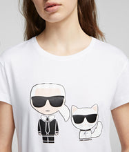 Load image into Gallery viewer, KARL & CHOUPETTE IKONIK TEE