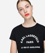 Load image into Gallery viewer, KARL LAGERFELD ADDRESS TEE