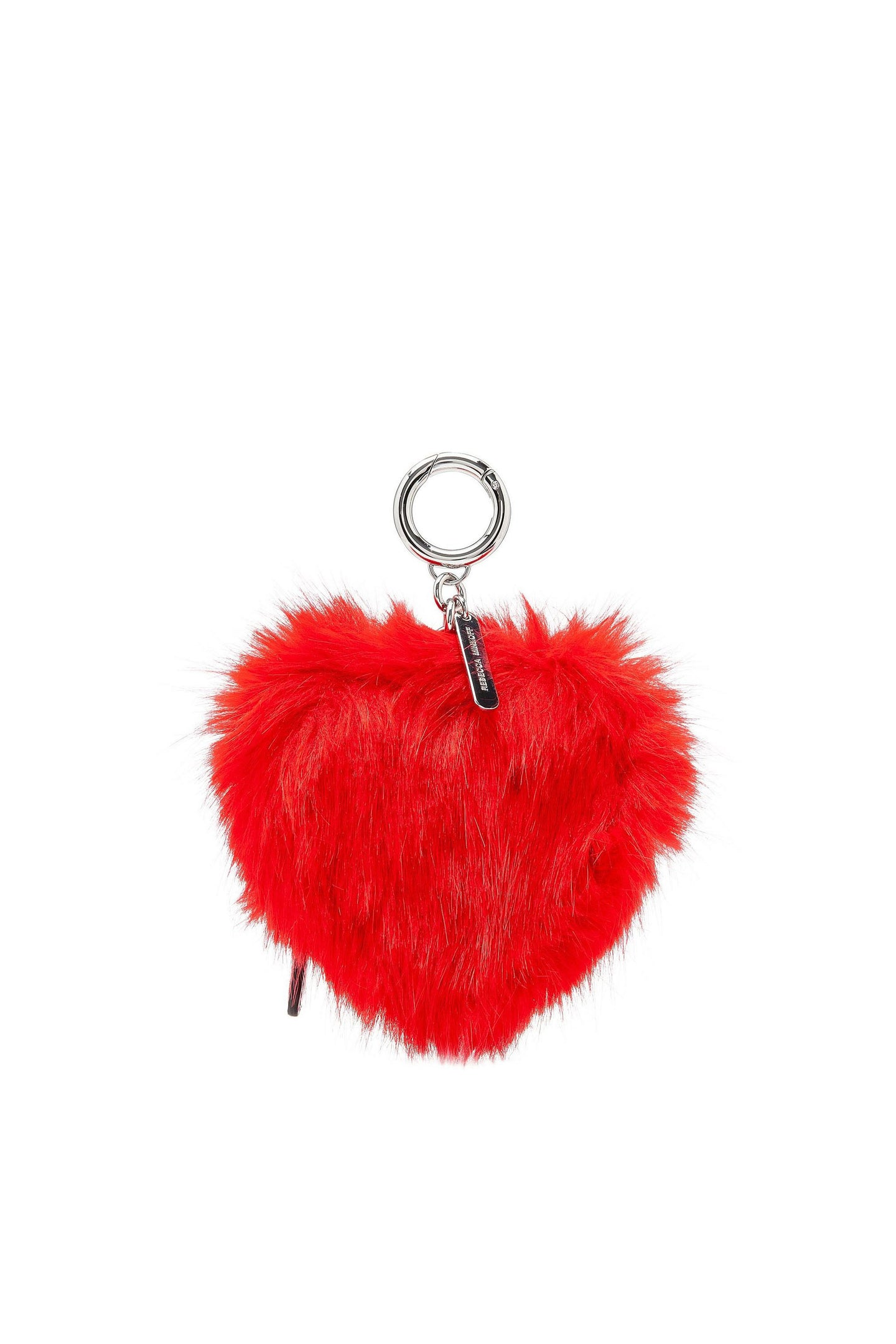 HEART COIN POUCH BAG CHARM