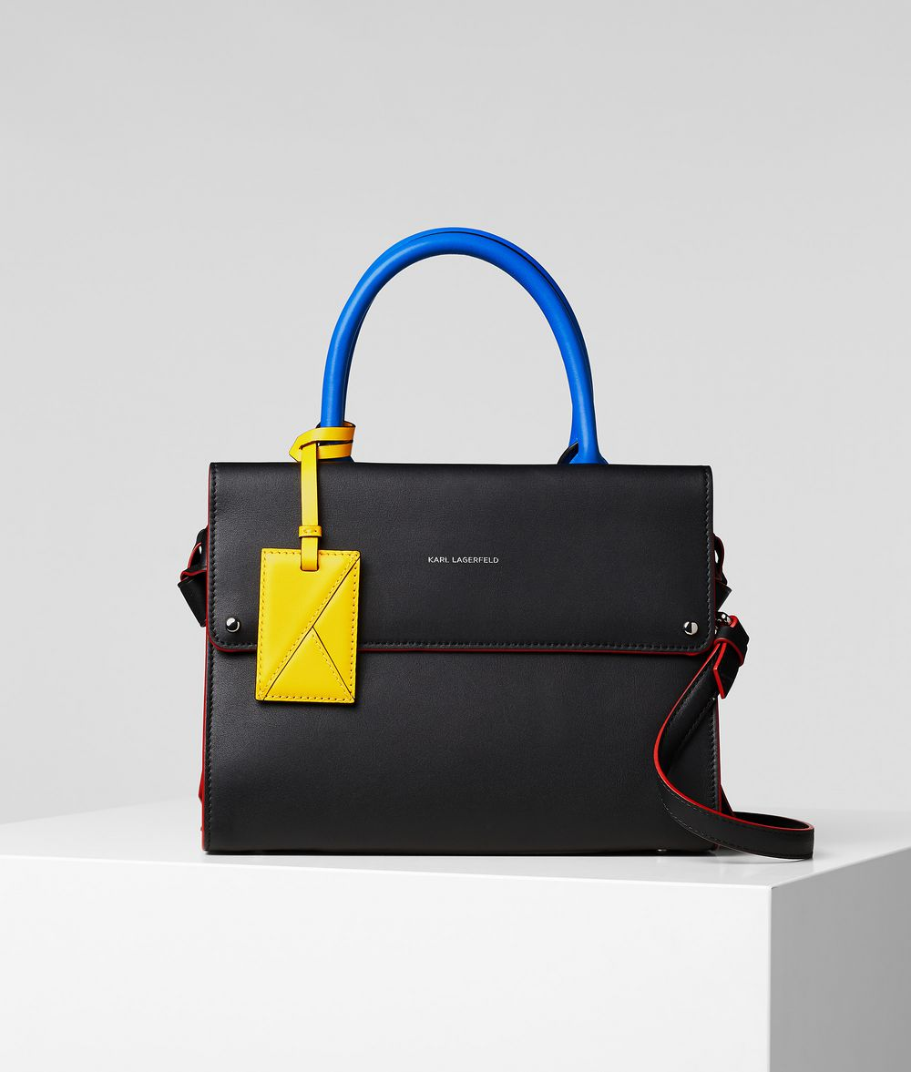 K/IKON BAUHAUS SMALL TOP-HANDLE BAG