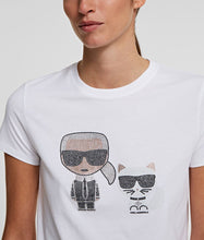 Load image into Gallery viewer, IKONIK RHINESTONE T-SHIRT
