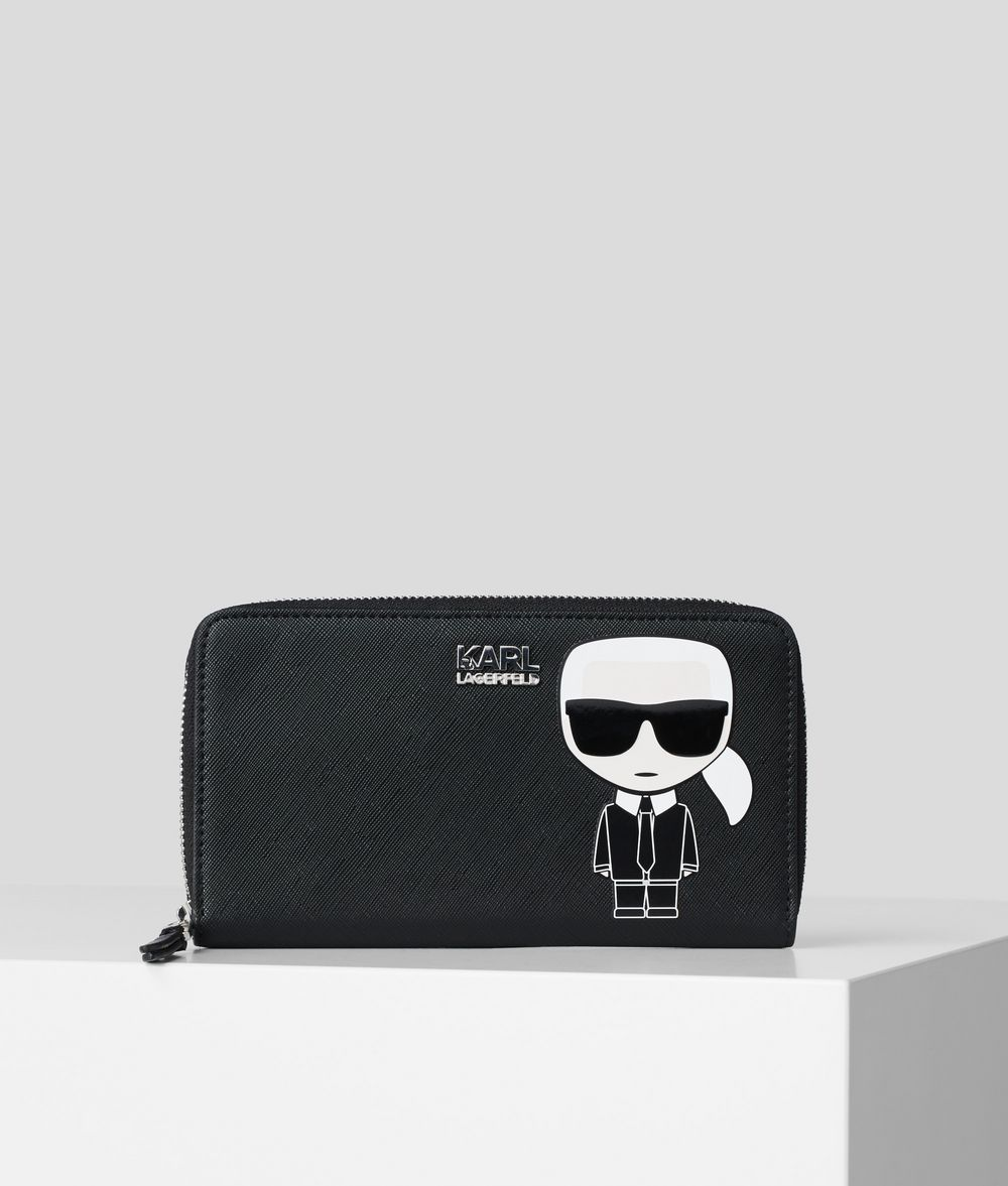 K/IKONIK ZIPPER AROUND WALLET