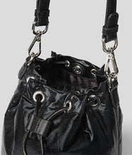 Load image into Gallery viewer, K/IKONIK METALLIC NYLON BUCKET BAG