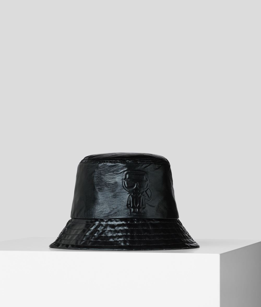 K/IKONIK METALLIC BUCKET HAT