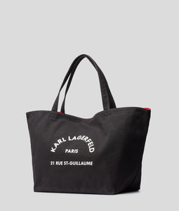 RUE ST-GUILLAUME CANVAS TOTE