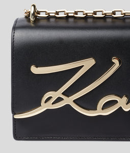 K/SIGNATURE SMALL SHOULDER BAG